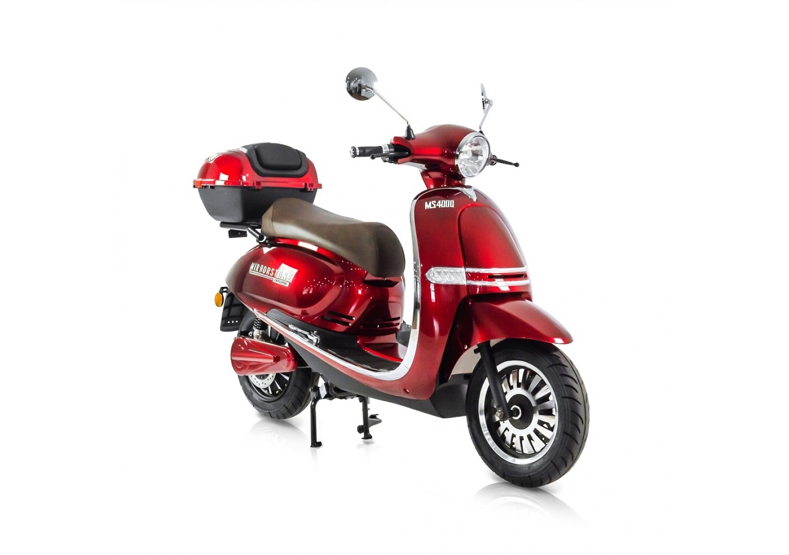 MS4000 Red Vintage Electric Scooter