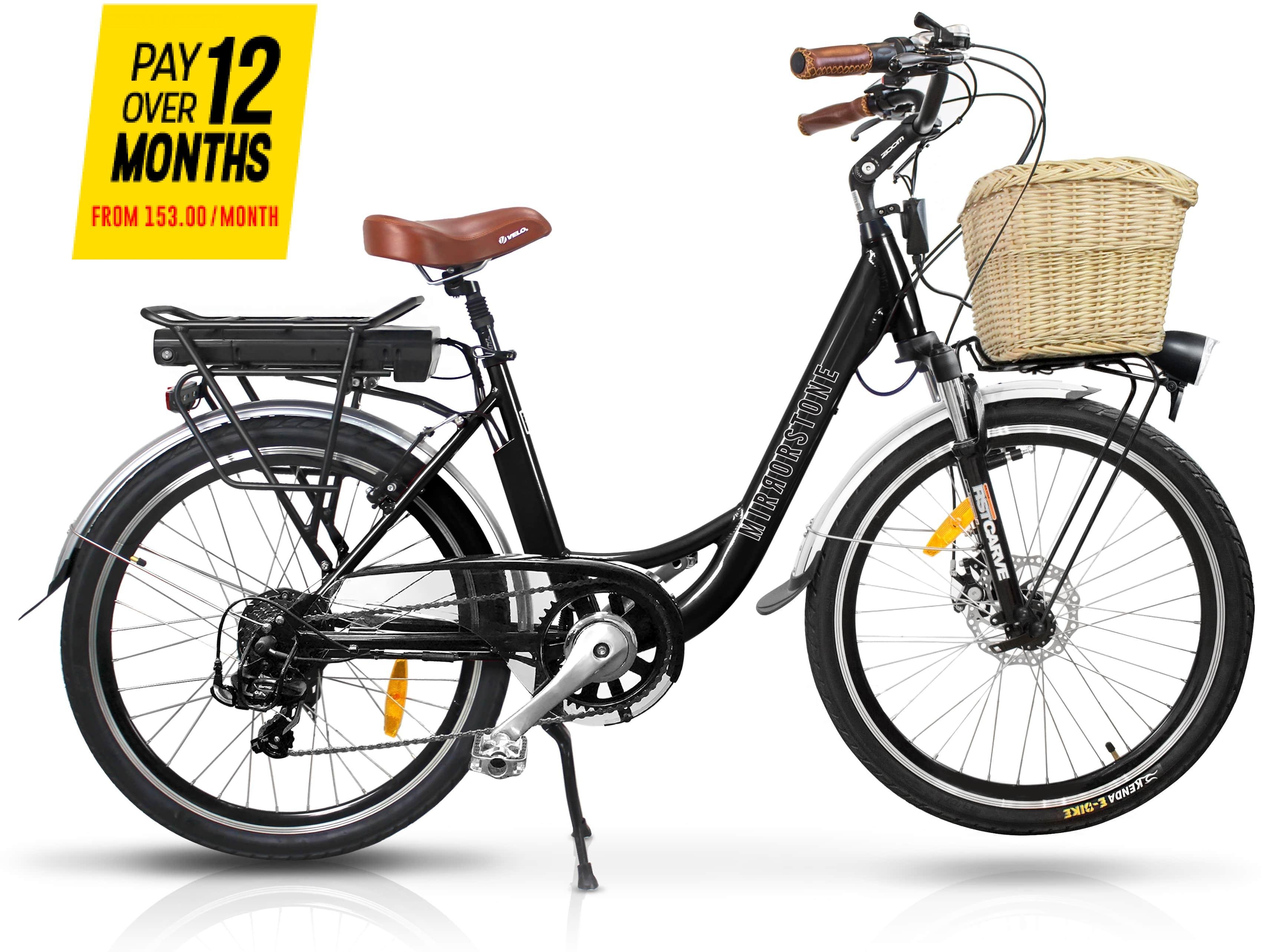 Sprint Electric Bike Black Wheels - Now In Stock!