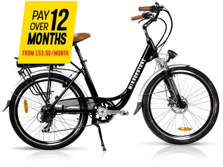 "Vintage Dutch Style Electric Bike Black 26"" Wheels - Unisex Bike - Only 2 Left!"