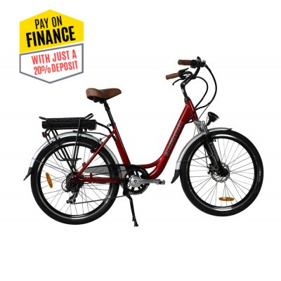 Sprint Electric Bike Cherry Red Wheels - Due August 2021