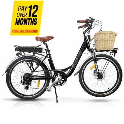 Sprint Electric Bike Black Wheels - Last 1 Left!