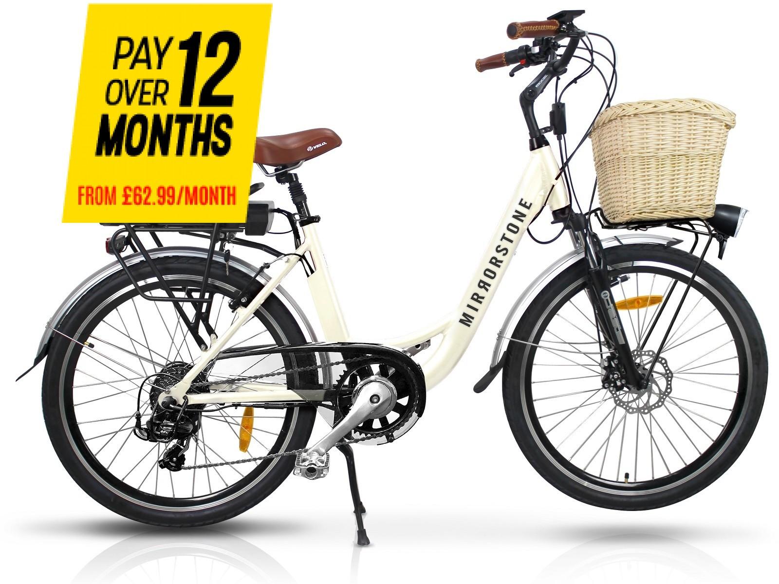 Sprint Electric Bike Milky White Wheels - Last bike Remaining - Buy Now!