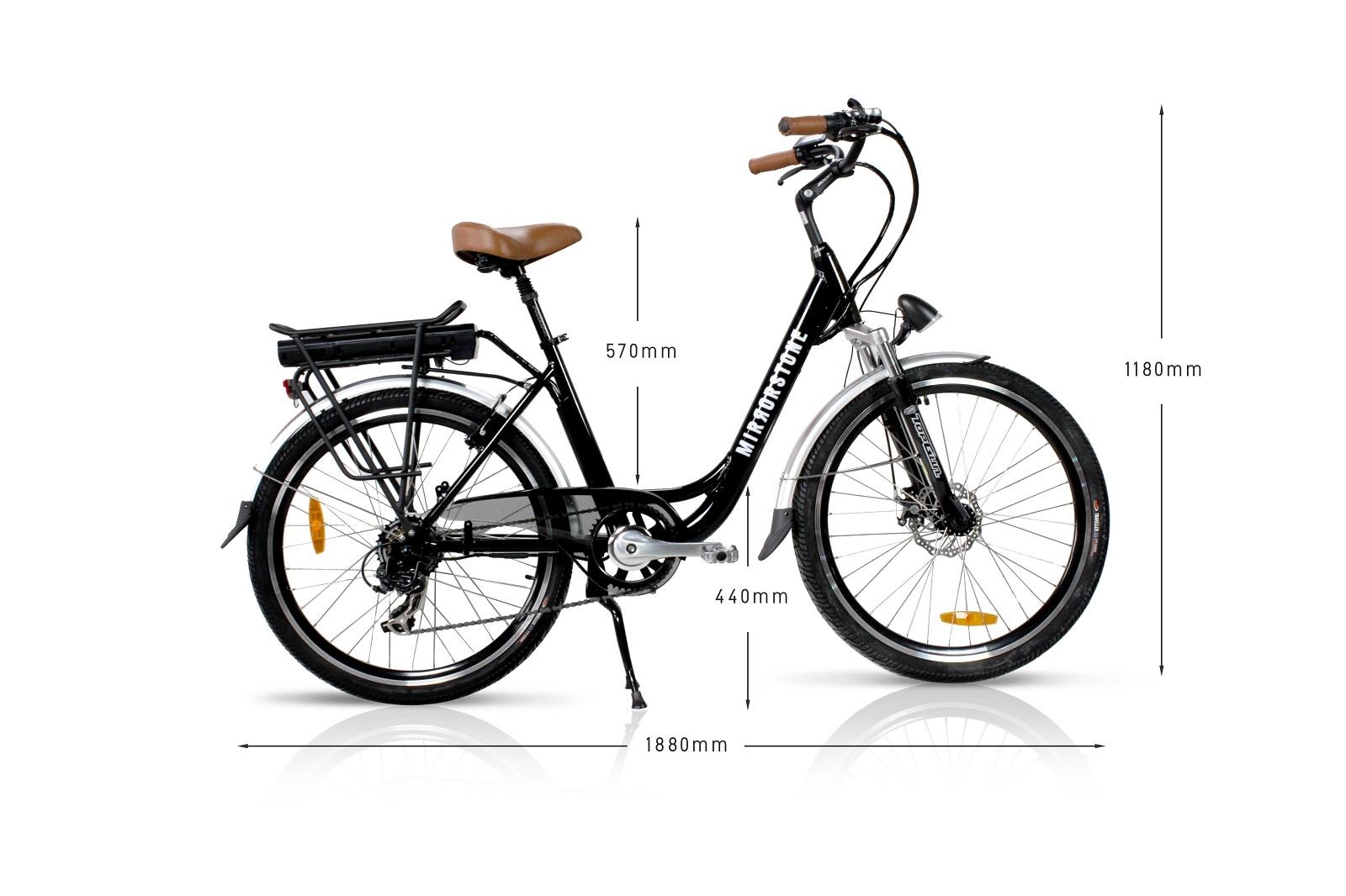 dynamic dutch electric bike black 26 u0026quot  wheels