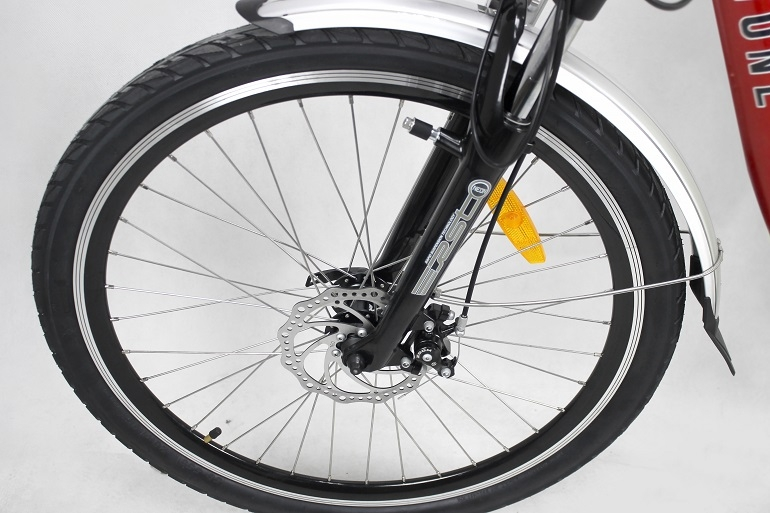 Mirrorstone Electric Bike Wheel & Tyres